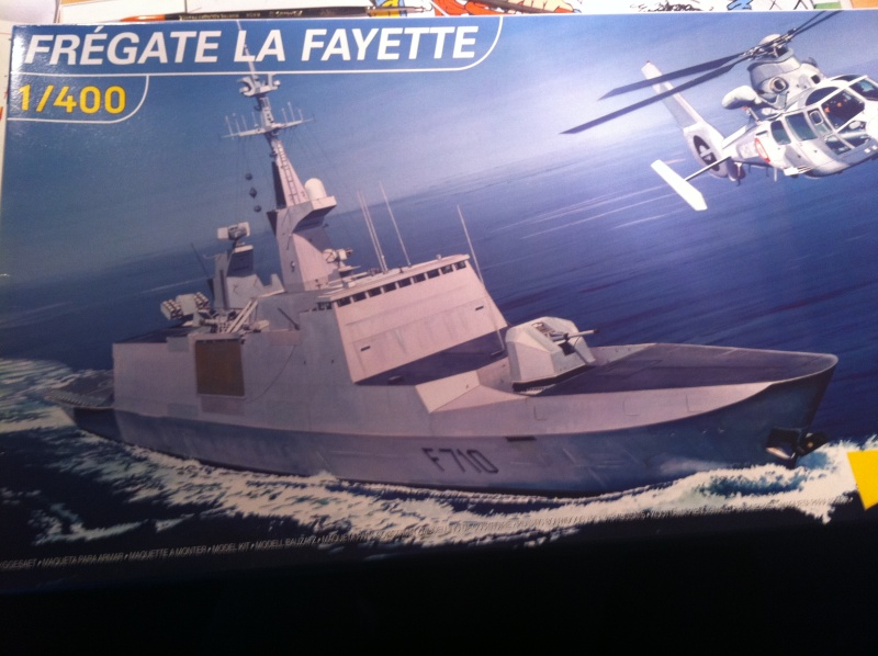 Frégate type La Fayette 1/400 heller Photo_22
