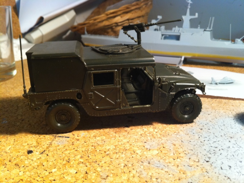 HMMWV Desert patrol 1/35 italieri Photo_25