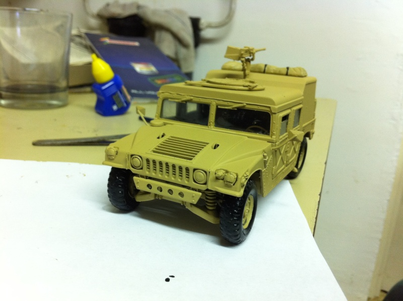 HMMWV Desert patrol 1/35 italieri Photo_26