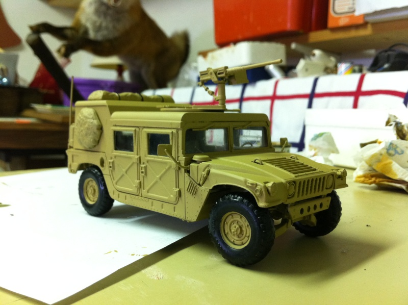 HMMWV Desert patrol 1/35 italieri Photo_27