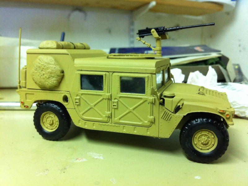 HMMWV Desert patrol 1/35 italieri Photo_28