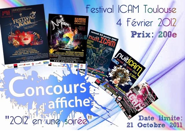 Concours d'affiche Festival ICAM 2012 Affich11