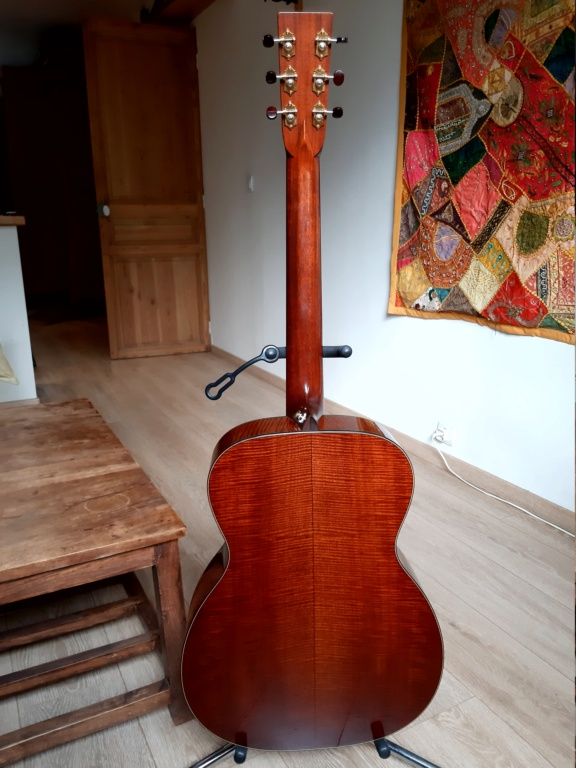 Vends OM custom BOURGEOIS Redwood/flamed Mahogany  20200918