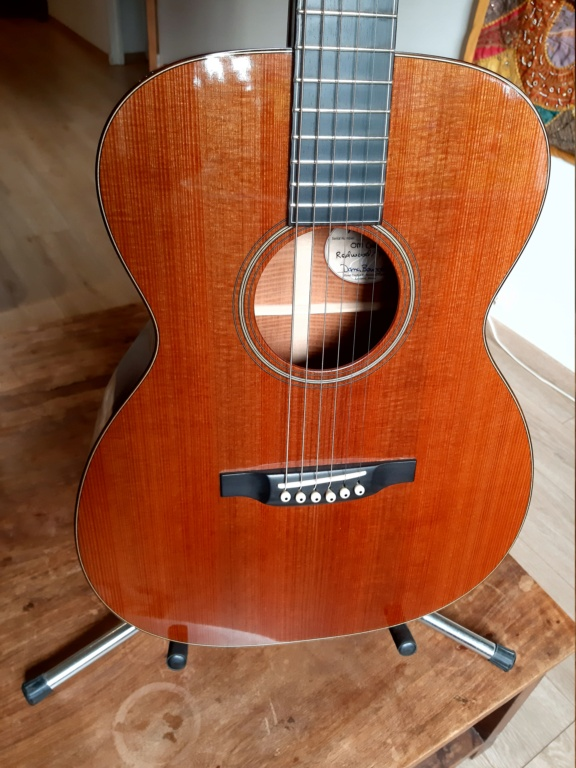 Vends OM custom BOURGEOIS Redwood/flamed Mahogany  20200922