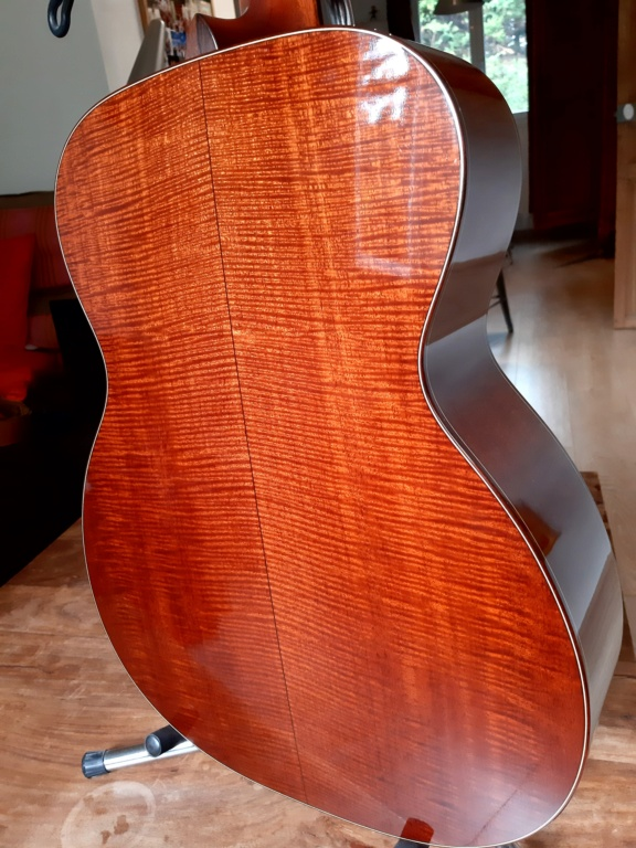 Vends OM custom BOURGEOIS Redwood/flamed Mahogany  20200925