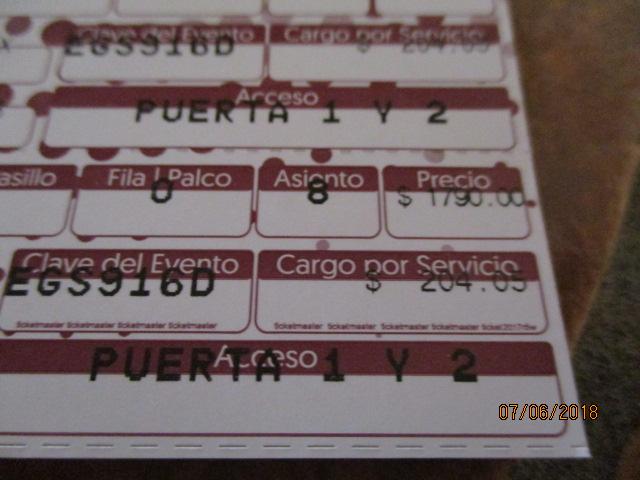 Cirqe Du Soleil Tickets Img_1410