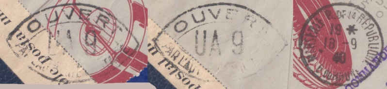 Censure UA 9  sur lettre du18.09.40 de Marseille-> l'Algérie - non listé chez Samuel! _del_612