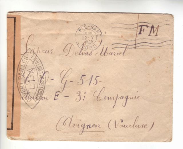 Nouveau cachet de Lille - LLA en 1945. Lla_r10