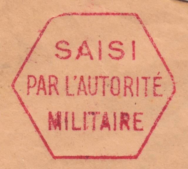 "Cachet ""SAISI"" d'Alençon - A.N Sai_110"