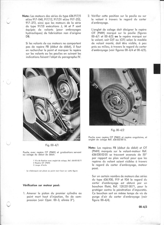 réglage de cette fameuse pompe ... mercedes L319 Manuel22