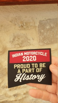 Patch indian offert 20200610