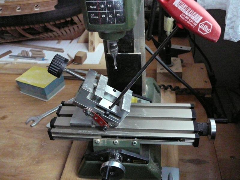 fixation des pièces avec la MF70 P1080820