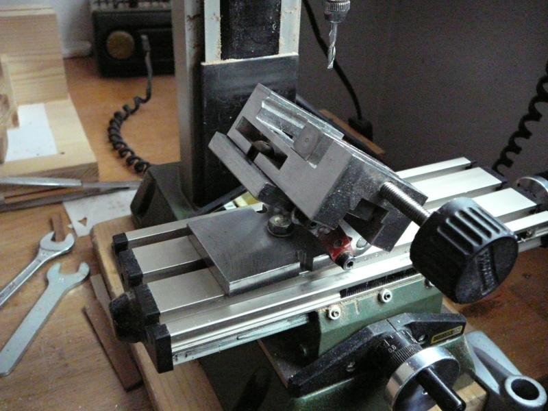 fixation des pièces avec la MF70 P1080821