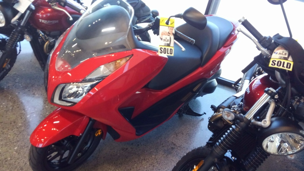 Honda Forza 300 Lv110