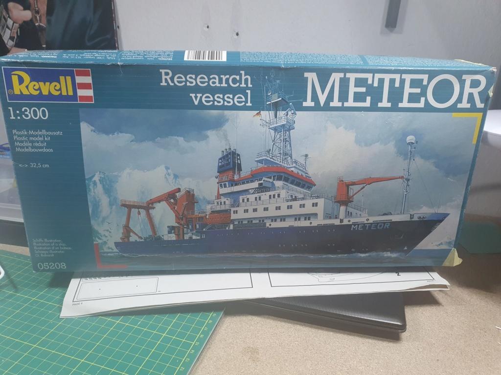 Forschungsschiff Meteor / Revell, 1:300 20200511