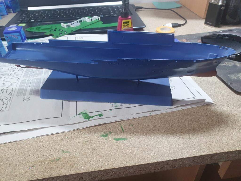 Forschungsschiff Meteor / Revell, 1:300 20200513