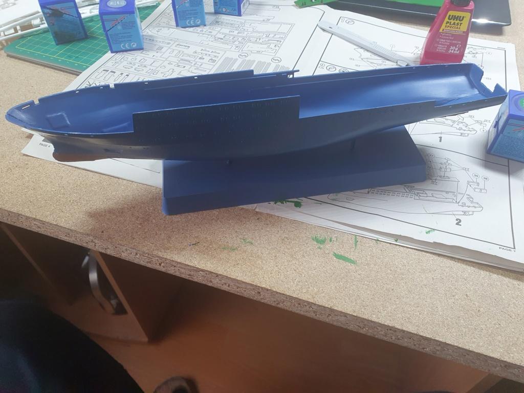 Forschungsschiff Meteor / Revell, 1:300 20200514