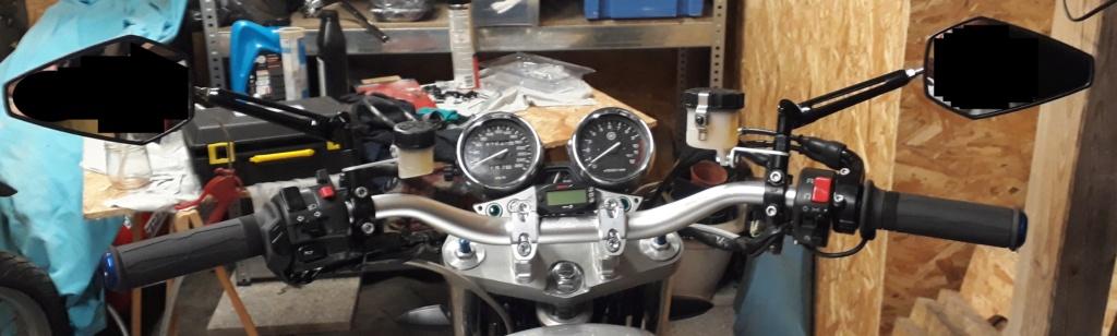Vide garage XJR 1300 Guidon11