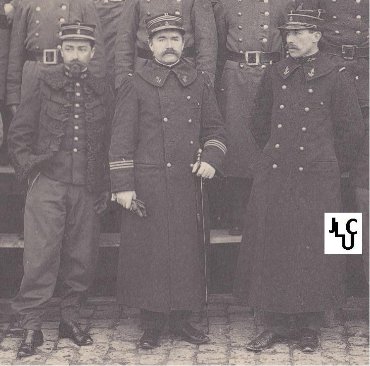 Tenues de l'Infanterie Coloniale par la photo, IIIème République 1893-1914 (Off) 00110