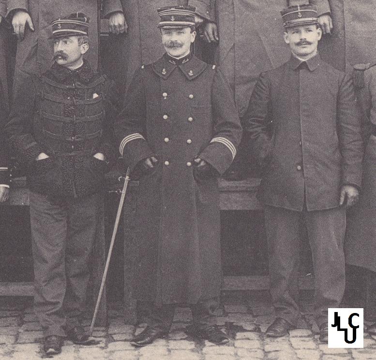 Tenues de l'Infanterie Coloniale par la photo, IIIème République 1893-1914 (Off) 00210