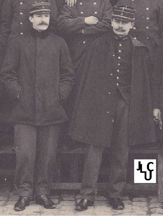 Tenues de l'Infanterie Coloniale par la photo, IIIème République 1893-1914 (Off) 00310