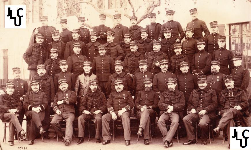 Tenues de l'Infanterie Coloniale par la photo, IIIème République 1893-1914 (Off) 00510