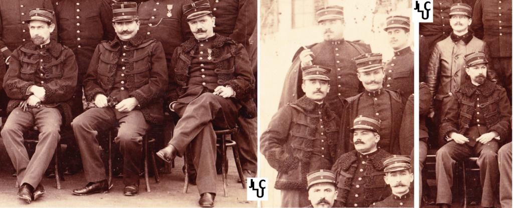 Tenues de l'Infanterie Coloniale par la photo, IIIème République 1893-1914 (Off) 00610