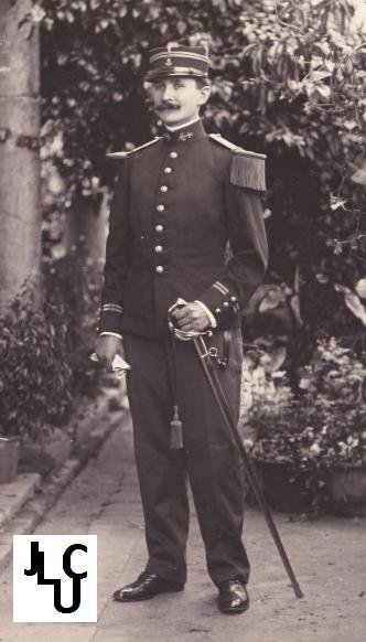 Tenues de l'Infanterie Coloniale par la photo, IIIème République 1893-1914 (Off) 00810