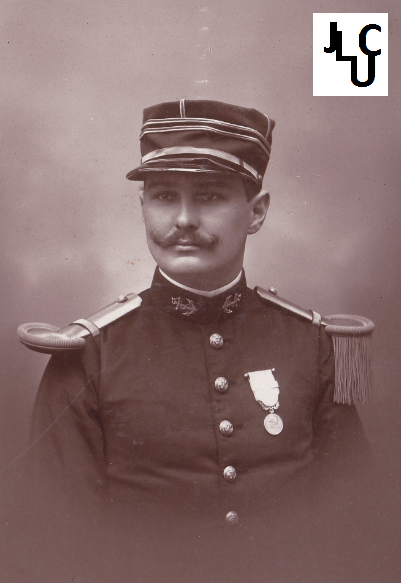 Tenues de l'Infanterie Coloniale par la photo, IIIème République 1893-1914 (Off) 00911