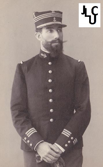 Tenues de l'Infanterie Coloniale par la photo, IIIème République 1893-1914 (Off) 01010