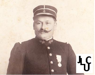 Tenues de l'Infanterie Coloniale par la photo, IIIème République 1893-1914 (Off) 01310