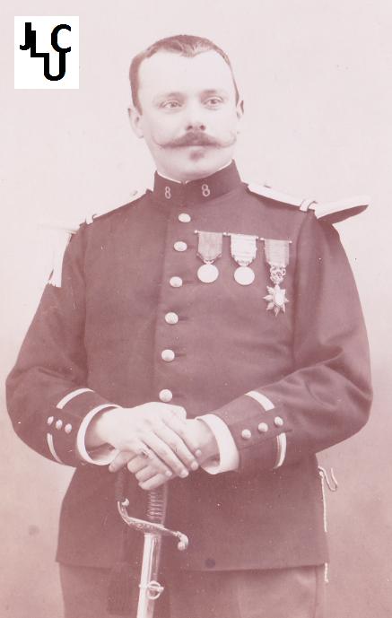 Tenues de l'Infanterie Coloniale par la photo, IIIème République 1893-1914 (Off) 01510