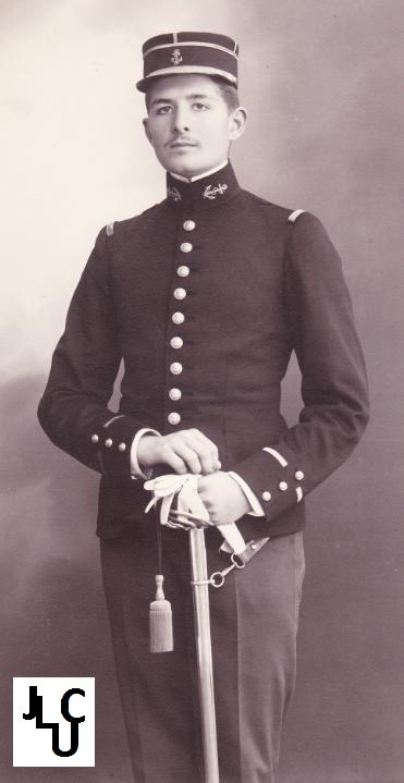 Tenues de l'Infanterie Coloniale par la photo, IIIème République 1893-1914 (Off) 01710