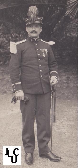 Tenues de l'Infanterie Coloniale par la photo, IIIème République 1893-1914 (Off) 02110