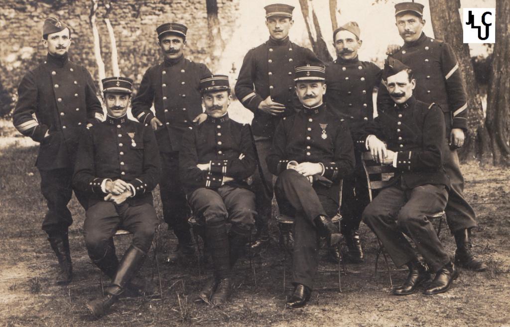 Tenues de l'Infanterie Coloniale par la photo, IIIème République 1893-1914 (Off) 02210