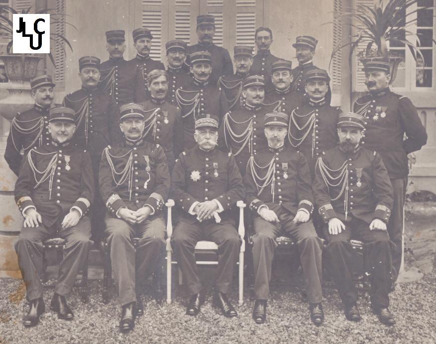 Tenues de l'Infanterie Coloniale par la photo, IIIème République 1893-1914 (Off) 02410