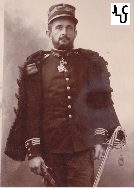 Tenues de l'Infanterie Coloniale par la photo, IIIème République 1893-1914 (Off) 02510