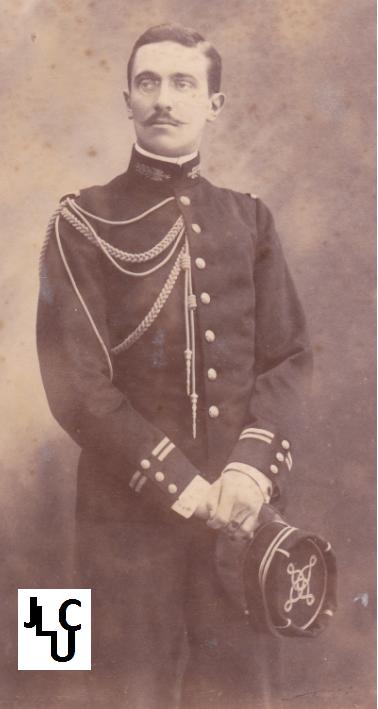 Tenues de l'Infanterie Coloniale par la photo, IIIème République 1893-1914 (Off) 02610