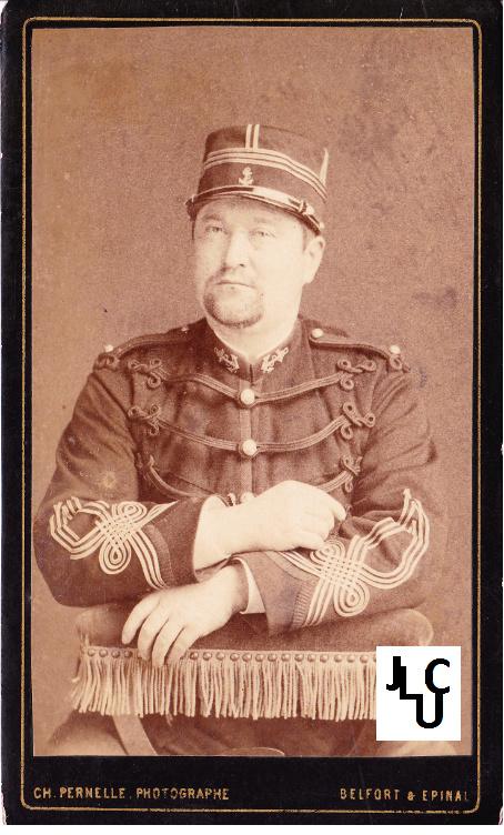 Tenues de l'Infanterie de Marine par la photographie, 1883-1893 (Officiers) Bd_00210