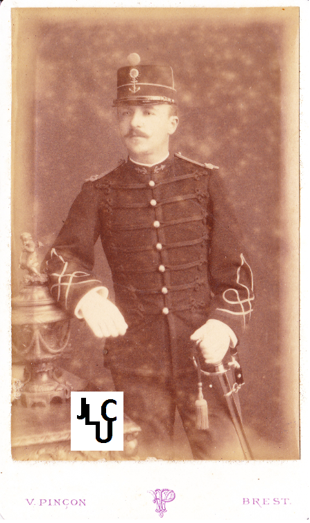 Tenues de l'Infanterie de Marine par la photographie, 1883-1893 (Officiers) Bd_00310