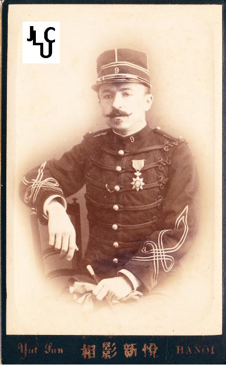 Tenues de l'Infanterie de Marine par la photographie, 1883-1893 (Officiers) Bd_00410