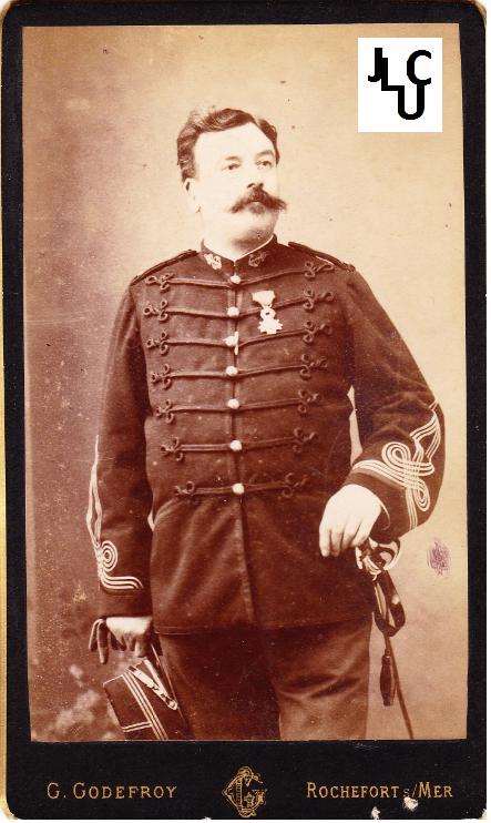Tenues de l'Infanterie de Marine par la photographie, 1883-1893 (Officiers) Bd_00510