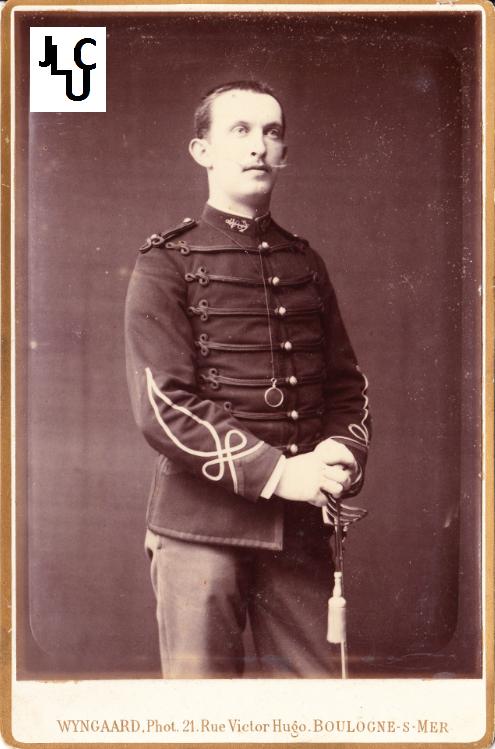 Tenues de l'Infanterie de Marine par la photographie, 1883-1893 (Officiers) Bd_00611