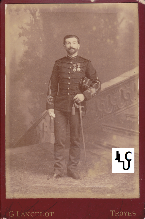 Tenues de l'Infanterie de Marine par la photographie, 1883-1893 (Officiers) Bd_00710