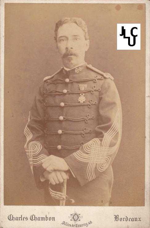 Tenues de l'Infanterie de Marine par la photographie, 1883-1893 (Officiers) Bd_00810