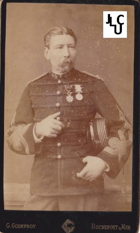Tenues de l'Infanterie de Marine par la photographie, 1883-1893 (Officiers) Bd_00910