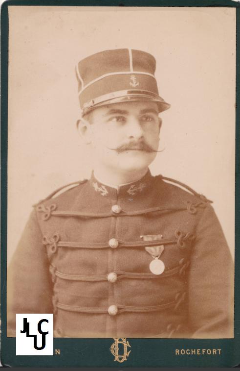 Tenues de l'Infanterie de Marine par la photographie, 1883-1893 (Officiers) Bd_01110