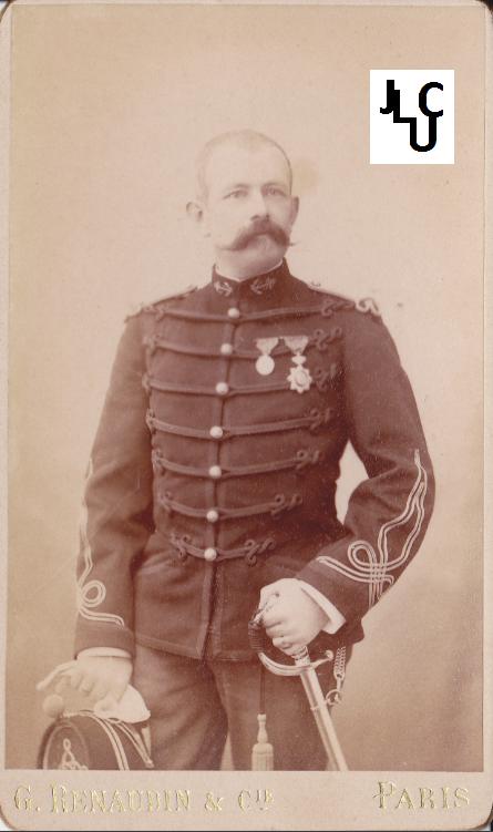 Tenues de l'Infanterie de Marine par la photographie, 1883-1893 (Officiers) Bd_01210