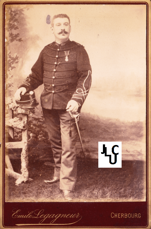 Tenues de l'Infanterie de Marine par la photographie, 1883-1893 (Officiers) Bd_01410