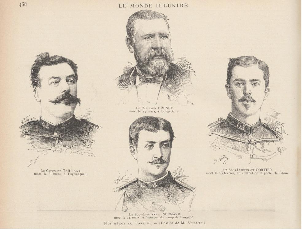 Tenues de l'Infanterie de Marine par la photographie, 1883-1893 (Officiers) Journa10
